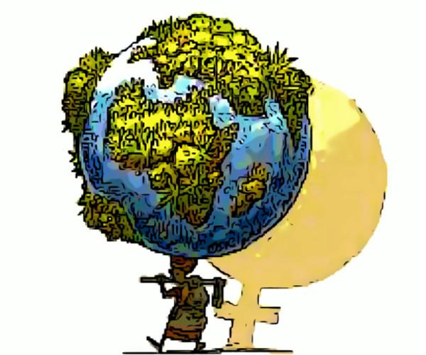 Africa donne terra